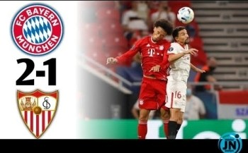 [Highlights] Super Cup 2020 - Bayern Munich vs Sevilla 2-1 Full Time